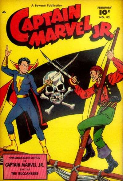 Captain Marvel Jr. #82 comic books for sale