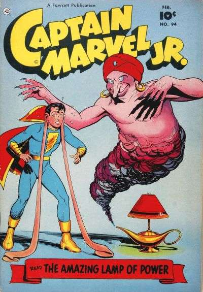 Captain Marvel Jr. #94 comic books for sale