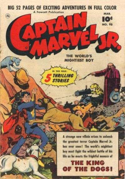 Captain Marvel Jr. #95 comic books for sale