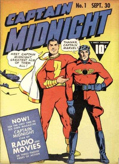 Captain Midnight comic books