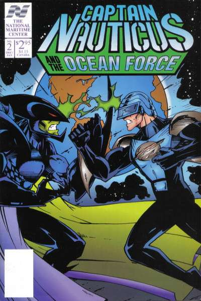 Captain Nauticus and the Ocean Force #2 comic books - cover scans photos Captain Nauticus and the Ocean Force #2 comic books - covers, picture gallery