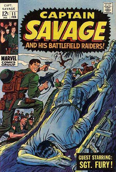 Captain Savage and His Leatherneck Raiders #11 Comic Books - Covers, Scans, Photos  in Captain Savage and His Leatherneck Raiders Comic Books - Covers, Scans, Gallery