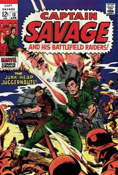 Captain Savage and His Leatherneck Raiders #13 Comic Books - Covers, Scans, Photos  in Captain Savage and His Leatherneck Raiders Comic Books - Covers, Scans, Gallery