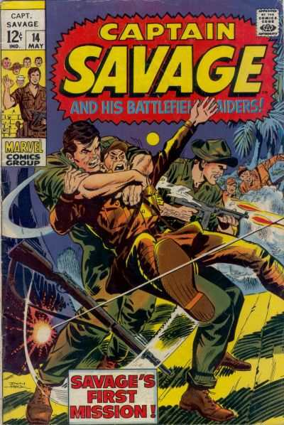 Captain Savage and His Leatherneck Raiders #14 Comic Books - Covers, Scans, Photos  in Captain Savage and His Leatherneck Raiders Comic Books - Covers, Scans, Gallery