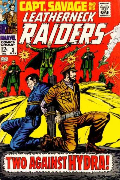 Captain Savage and His Leatherneck Raiders #3 Comic Books - Covers, Scans, Photos  in Captain Savage and His Leatherneck Raiders Comic Books - Covers, Scans, Gallery