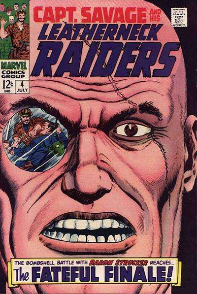 Captain Savage and His Leatherneck Raiders #4 comic books for sale