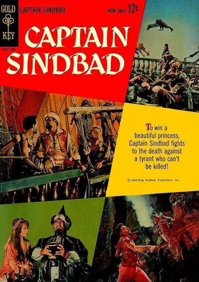 Captain Sindbad Comic Books. Captain Sindbad Comics.