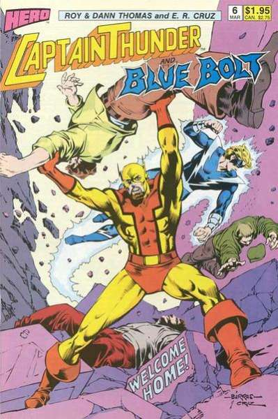 Captain Thunder and Blue Bolt #6 comic books for sale