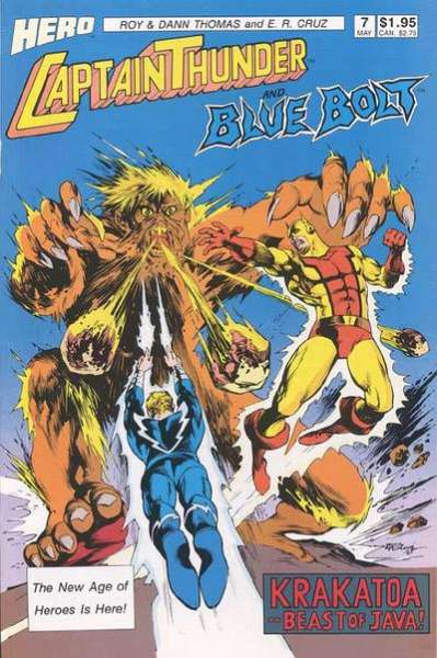 Captain Thunder and Blue Bolt #7 comic books for sale