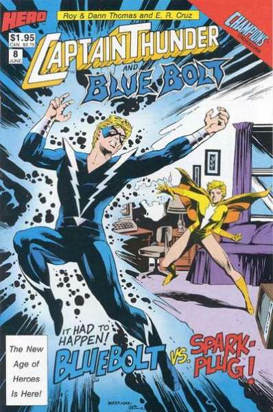 Captain Thunder and Blue Bolt #8 Comic Books - Covers, Scans, Photos  in Captain Thunder and Blue Bolt Comic Books - Covers, Scans, Gallery