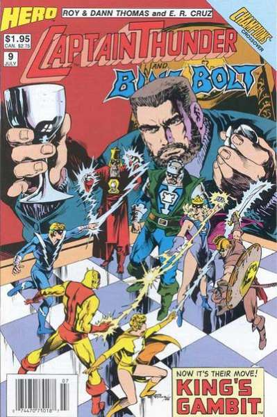Captain Thunder and Blue Bolt #9 comic books for sale