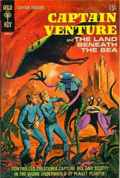 Captain Venture & the Land Beneath the Sea #2 Comic Books - Covers, Scans, Photos  in Captain Venture & the Land Beneath the Sea Comic Books - Covers, Scans, Gallery