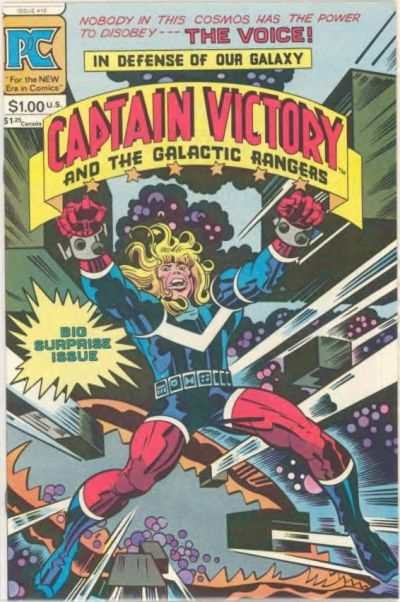 Captain Victory and the Galactic Rangers #10 comic books - cover scans photos Captain Victory and the Galactic Rangers #10 comic books - covers, picture gallery