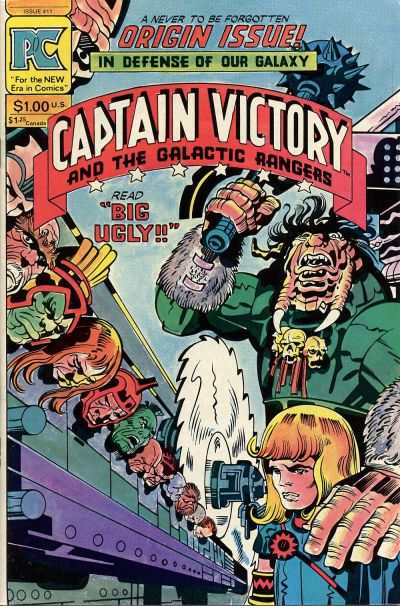 Captain Victory and the Galactic Rangers #11 comic books - cover scans photos Captain Victory and the Galactic Rangers #11 comic books - covers, picture gallery