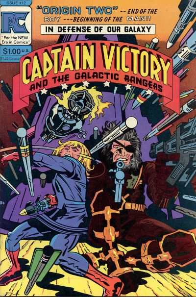 Captain Victory and the Galactic Rangers #12 Comic Books - Covers, Scans, Photos  in Captain Victory and the Galactic Rangers Comic Books - Covers, Scans, Gallery