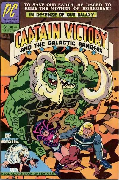 Captain Victory and the Galactic Rangers #3 comic books - cover scans photos Captain Victory and the Galactic Rangers #3 comic books - covers, picture gallery
