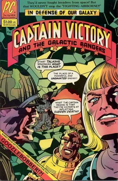 Captain Victory and the Galactic Rangers #4 comic books - cover scans photos Captain Victory and the Galactic Rangers #4 comic books - covers, picture gallery