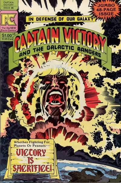 Captain Victory and the Galactic Rangers #6 comic books - cover scans photos Captain Victory and the Galactic Rangers #6 comic books - covers, picture gallery