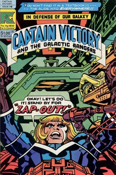 Captain Victory and the Galactic Rangers #8 comic books - cover scans photos Captain Victory and the Galactic Rangers #8 comic books - covers, picture gallery