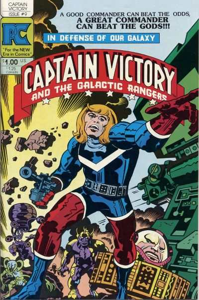 Captain Victory and the Galactic Rangers #9 Comic Books - Covers, Scans, Photos  in Captain Victory and the Galactic Rangers Comic Books - Covers, Scans, Gallery