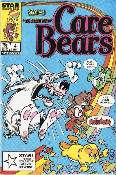 Care Bears #4 Comic Books - Covers, Scans, Photos  in Care Bears Comic Books - Covers, Scans, Gallery