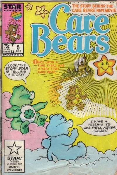 Care Bears #5 comic books for sale