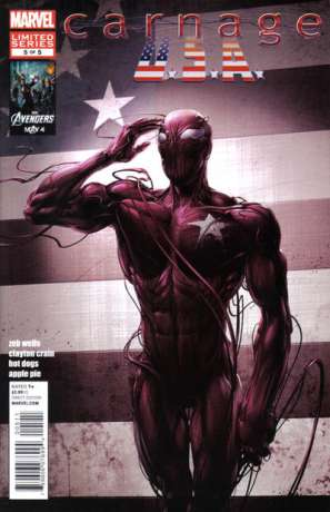 Carnage U.S.A. #5 comic books for sale