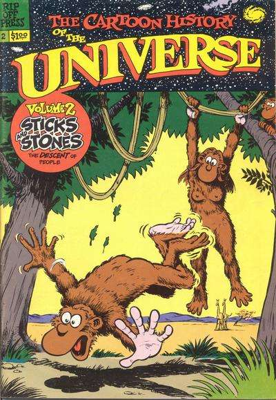 Cartoon History of the Universe #2 comic books for sale
