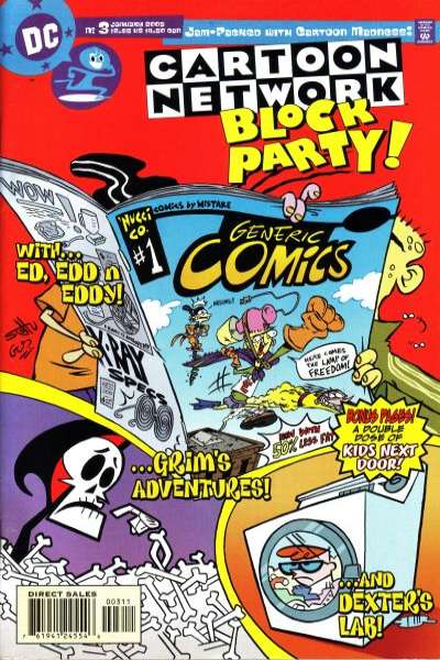 Cartoon Network Block Party #3 comic books for sale