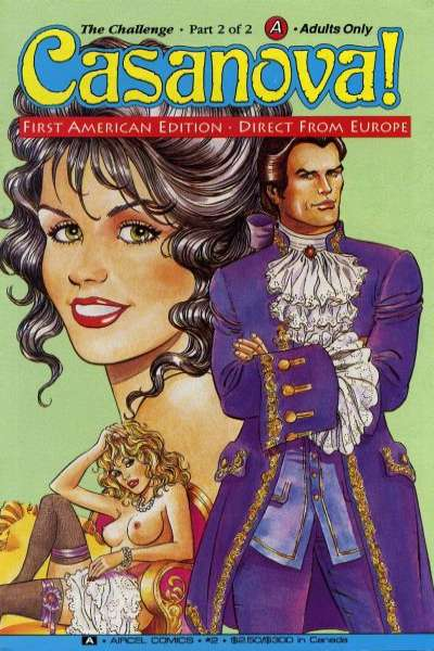 Casanova #2 Comic Books - Covers, Scans, Photos  in Casanova Comic Books - Covers, Scans, Gallery