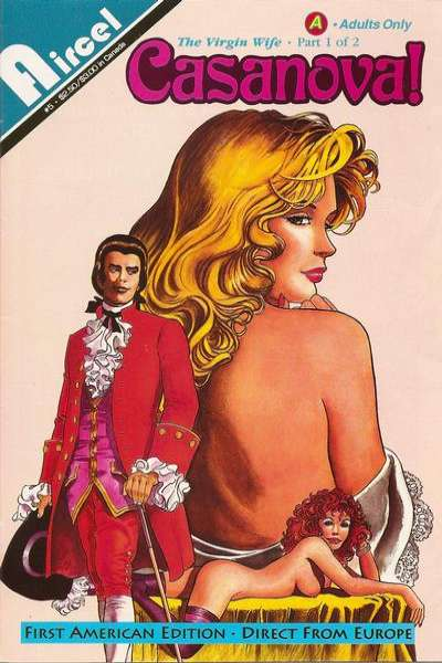 Casanova #5 Comic Books - Covers, Scans, Photos  in Casanova Comic Books - Covers, Scans, Gallery