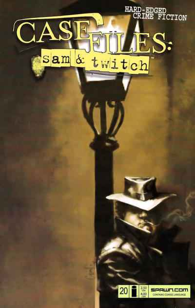 Case Files: Sam and Twitch #20 Comic Books - Covers, Scans, Photos  in Case Files: Sam and Twitch Comic Books - Covers, Scans, Gallery