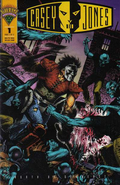 Casey Jones: North by Downeast comic books