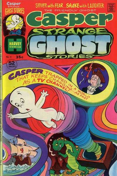 Casper Strange Ghost Stories #4 comic books for sale