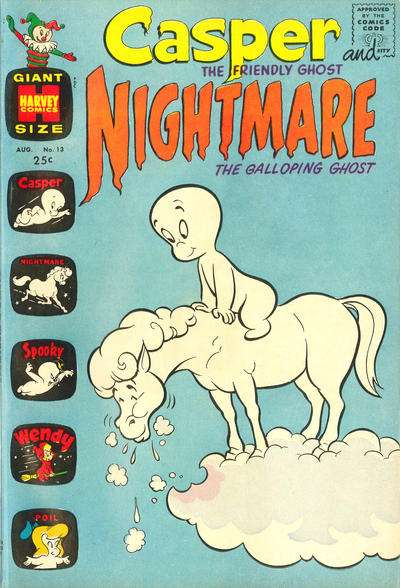Casper and Nightmare #13 Comic Books - Covers, Scans, Photos  in Casper and Nightmare Comic Books - Covers, Scans, Gallery