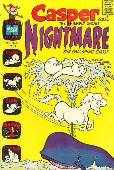 Casper and Nightmare #14 comic books for sale