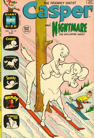Casper and Nightmare #35 comic books for sale