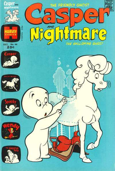 Casper and Nightmare #44 comic books for sale