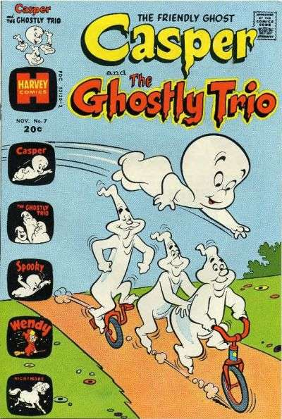 Casper and the Ghostly Trio #7 comic books for sale