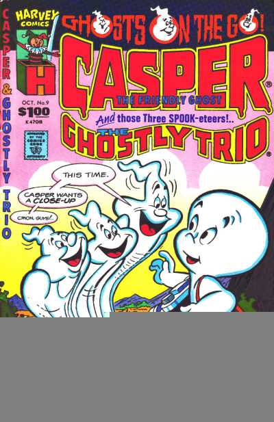 Casper and the Ghostly Trio #9 Comic Books - Covers, Scans, Photos  in Casper and the Ghostly Trio Comic Books - Covers, Scans, Gallery