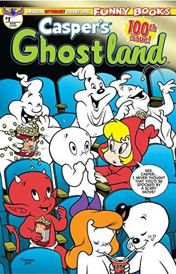 Casper's Ghostland comic books