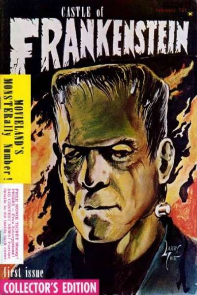 Castle of Frankenstein comic books