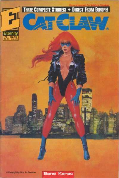 Cat Claw #9 Comic Books - Covers, Scans, Photos  in Cat Claw Comic Books - Covers, Scans, Gallery