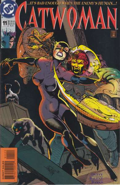 Catwoman #11 comic books - cover scans photos Catwoman #11 comic books - covers, picture gallery