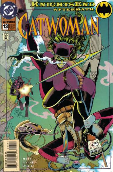 Catwoman #13 Comic Books - Covers, Scans, Photos  in Catwoman Comic Books - Covers, Scans, Gallery