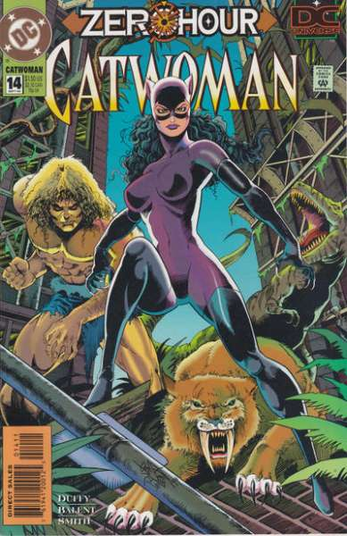 Catwoman #14 comic books - cover scans photos Catwoman #14 comic books - covers, picture gallery