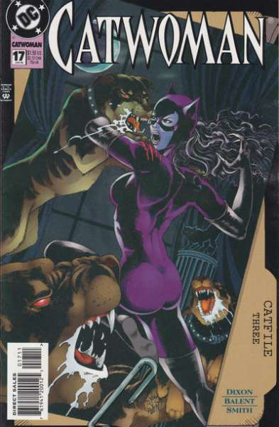 Catwoman #17 comic books for sale
