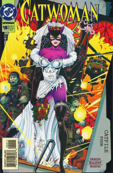 Catwoman #18 comic books - cover scans photos Catwoman #18 comic books - covers, picture gallery