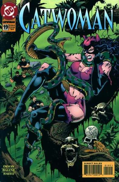 Catwoman #19 comic books - cover scans photos Catwoman #19 comic books - covers, picture gallery
