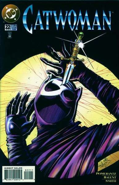 Catwoman #22 Comic Books - Covers, Scans, Photos  in Catwoman Comic Books - Covers, Scans, Gallery